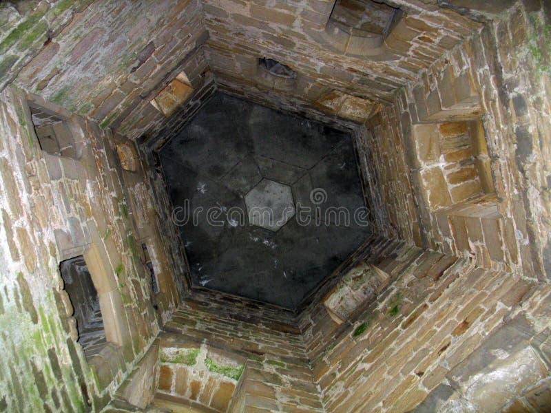 被塑造的老水井 免版税图库摄影