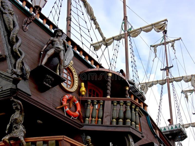 被塑造的老船 免版税图库摄影