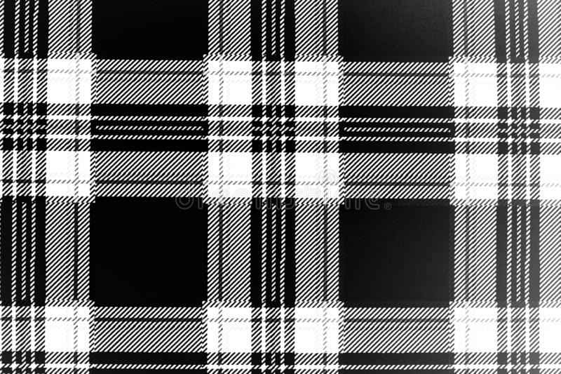 被察觉的黑白难看的东西 E 时髦织法纹理 单色微粒为墙纸提取 向量例证