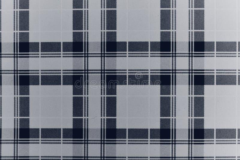 被察觉的黑白难看的东西 E 时髦织法纹理 单色微粒为墙纸提取 库存照片