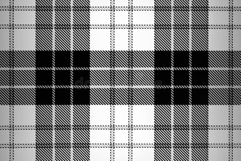 被察觉的黑白难看的东西 E 时髦织法纹理 单色微粒为墙纸提取 库存图片
