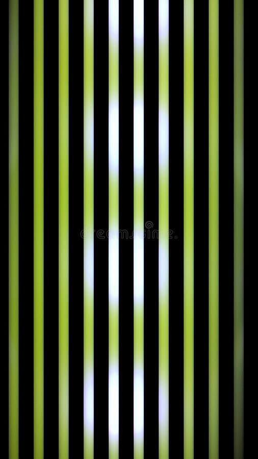 被带领的光照相机黑色绿色 免版税库存图片
