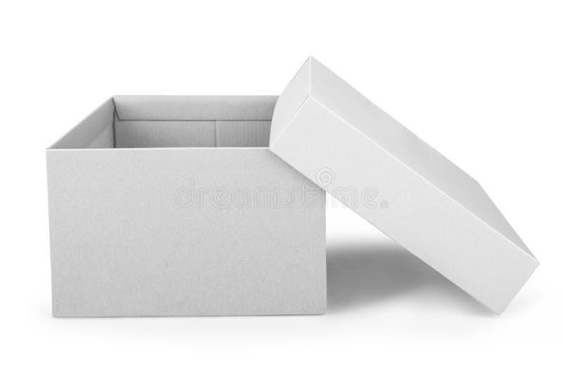 被开张的配件箱 免版税库存图片