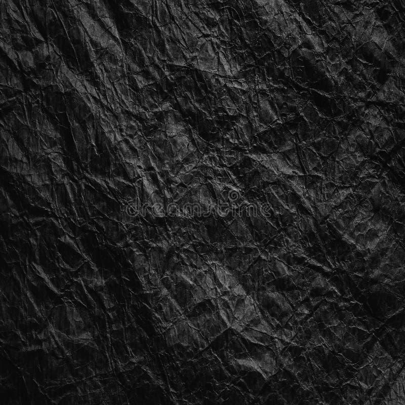 被弄皱的牛皮纸 r 库存照片