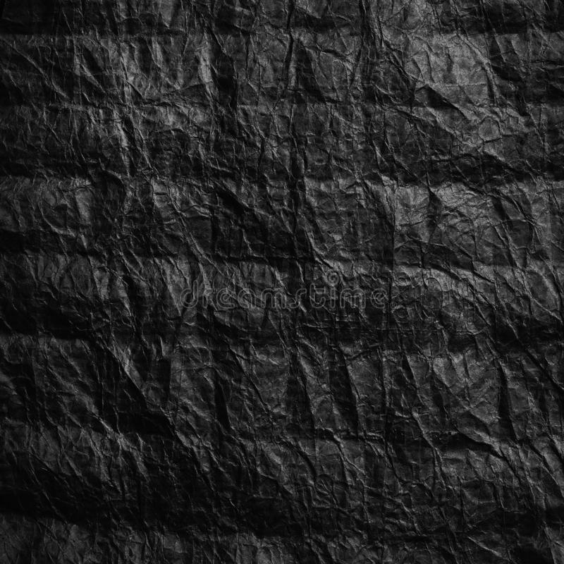 被弄皱的牛皮纸 r 免版税库存照片