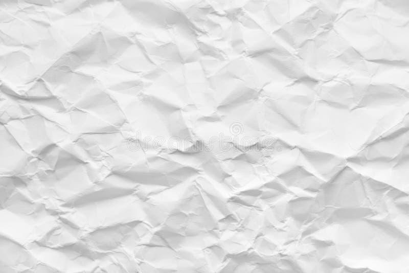 被弄皱的纸张 库存照片