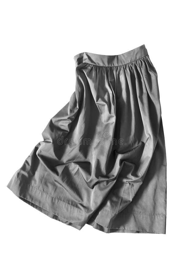 被弄皱的裙子 免版税图库摄影