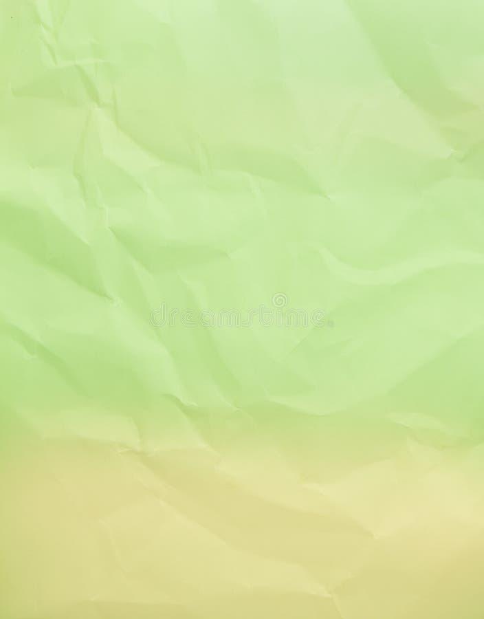 被弄皱的绿皮书背景 免版税图库摄影