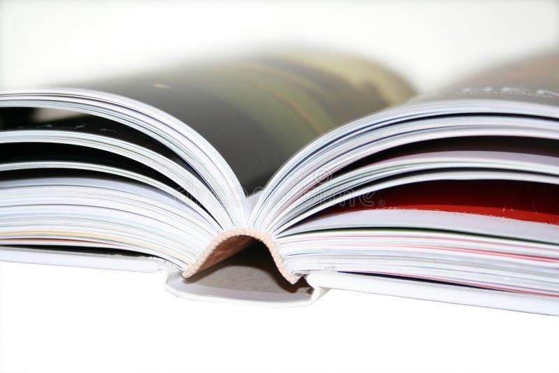 被弄脏的书 免版税库存图片