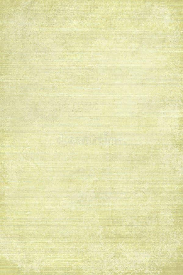 被弄脏的变老的棕色画布角落光 免版税库存图片