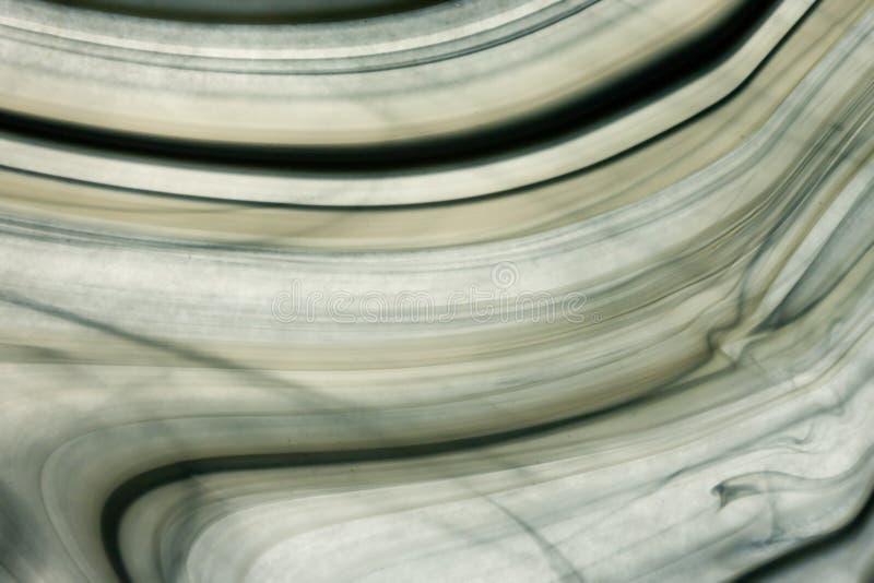 被弄脏的巴洛克式的黑色玻璃 免版税图库摄影