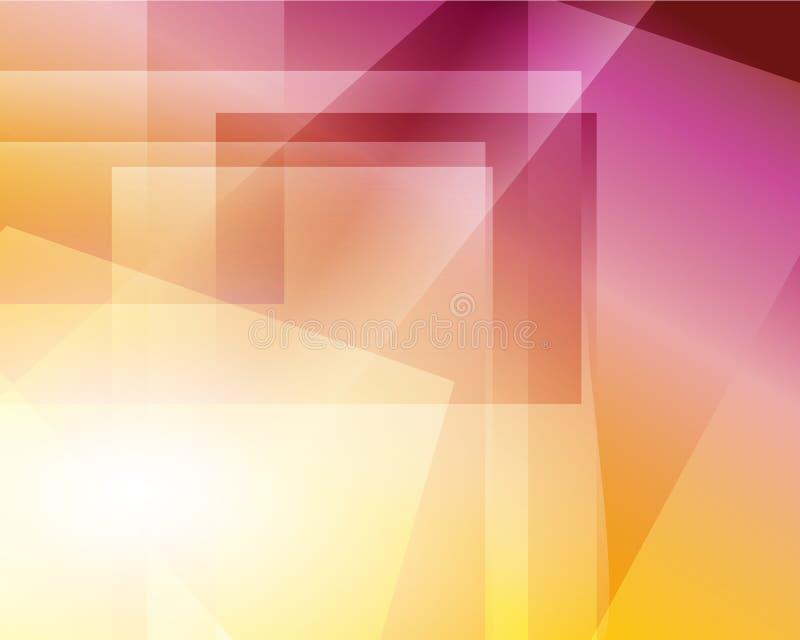 被弄脏的明亮的颜色捕捉背景 E 光滑的混合横幅模板 容易的编辑可能的软的色的传染媒介 库存例证