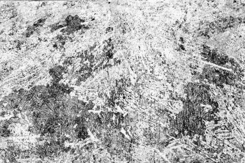 被弄脏的混凝土墙纹理背景 困厄的石表面 图库摄影