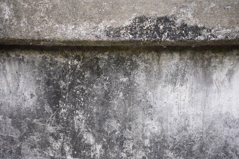 被弄脏的混凝土墙纹理 免版税库存图片