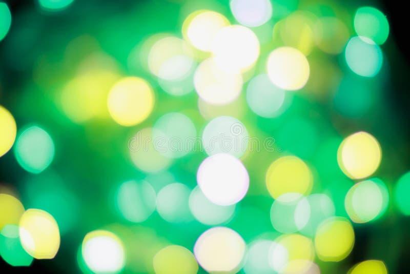被弄脏的背景,设计的,广告横幅,绿色bokeh背景纹理 图库摄影