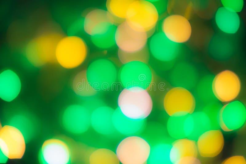 被弄脏的背景,设计的,广告横幅,绿色bokeh背景纹理 库存图片