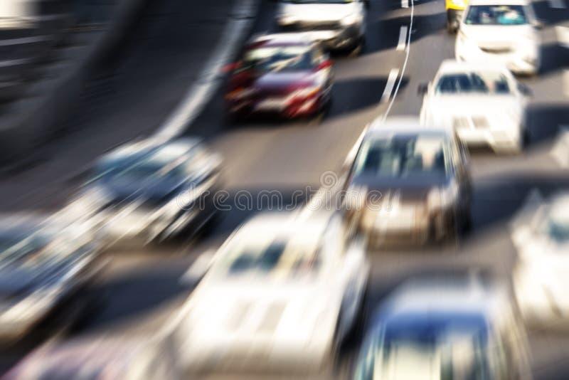 被弄脏的高速公路 库存图片