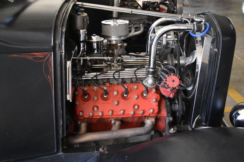 被恢复的引擎 免版税库存照片