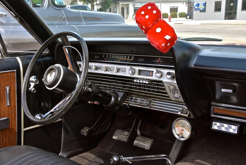 1967被恢复的福特星系500 XL 免版税库存照片