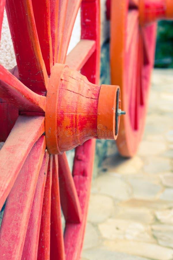 被恢复的轮子 免版税库存照片