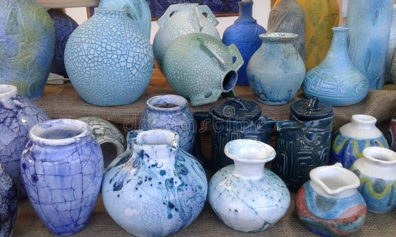被手工造的陶瓷 免版税库存照片