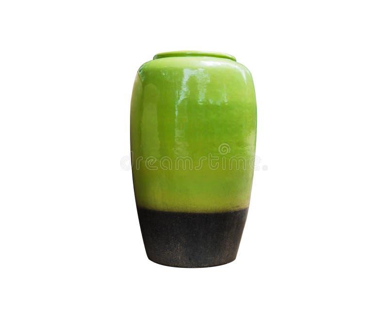 被手工造的Eramic瓶子或花瓶 库存照片
