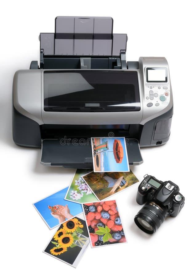 被打印的照片 免版税库存照片