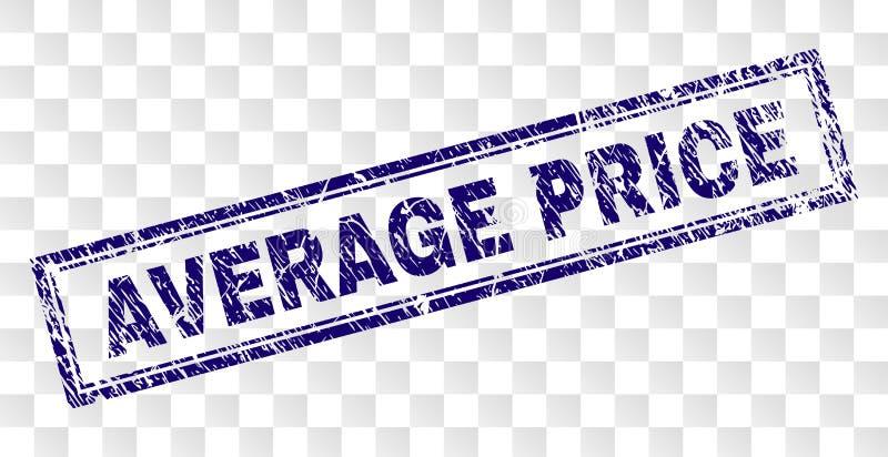 被抓的平均价格长方形邮票 皇族释放例证