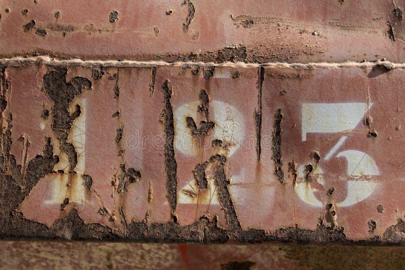 被抓的生锈的金属纹理第一百二十三 图库摄影