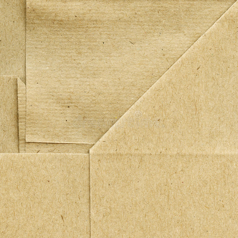 被折叠的纸张 库存照片