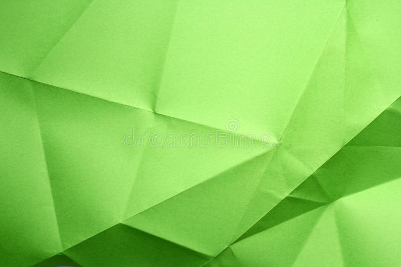 被折叠的纸张 图库摄影