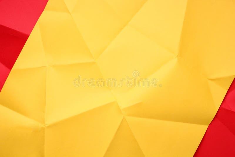 被折叠的纸张 免版税库存图片