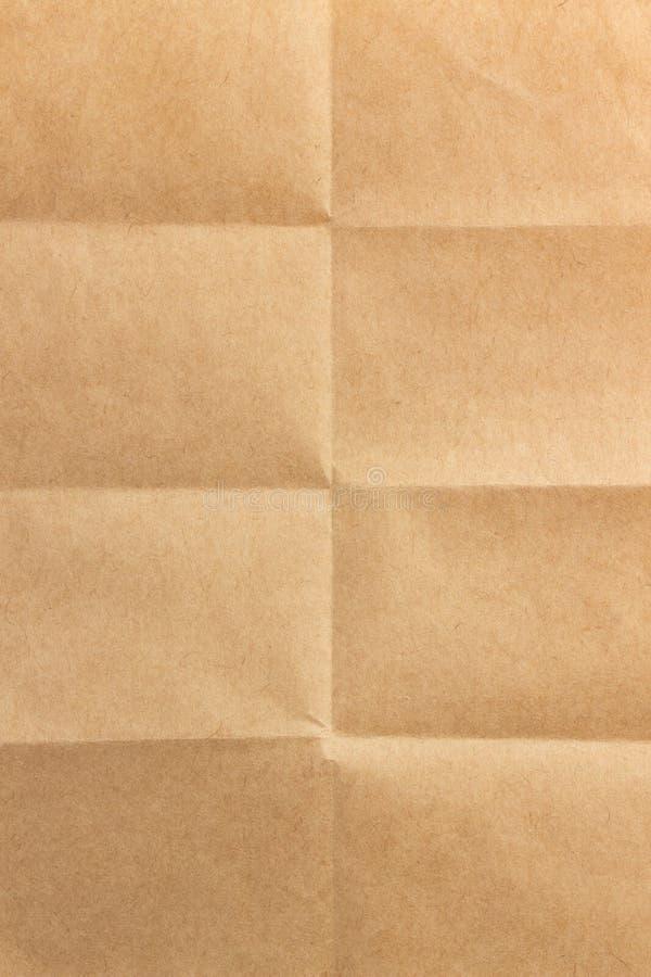 被折叠的纸 免版税库存图片