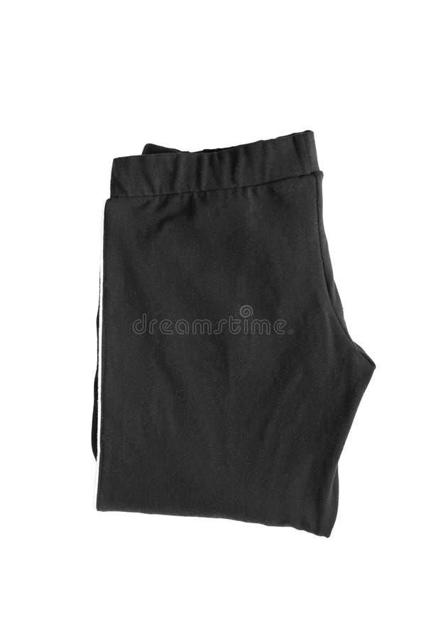 被折叠的裤子隔绝了 免版税图库摄影