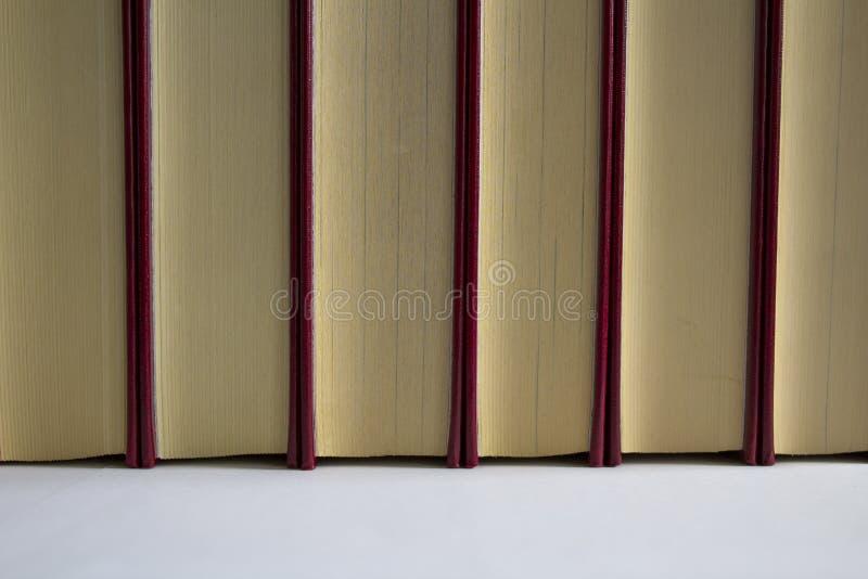 被排行的书 免版税库存照片