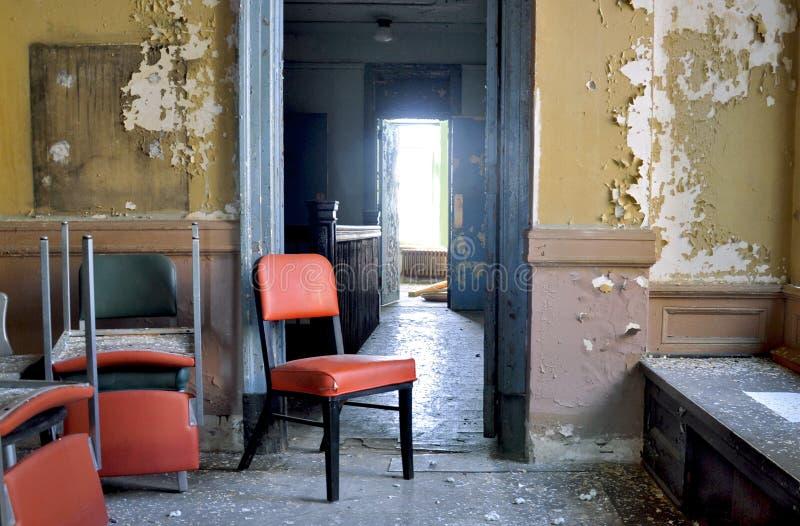 被放弃的公寓 库存照片