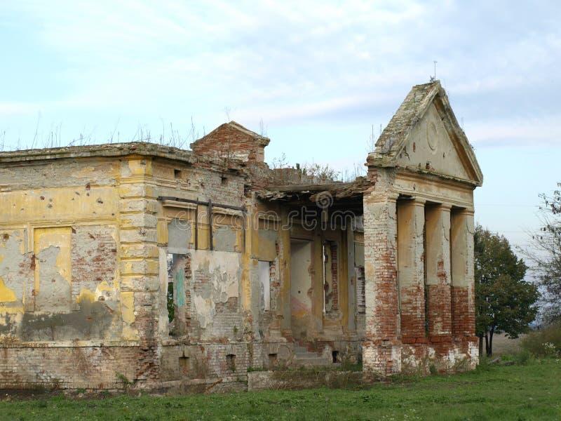 被放弃的城堡 图库摄影