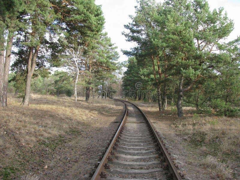 被放弃的城市PstrÄ… Å ¼ e 免版税库存照片