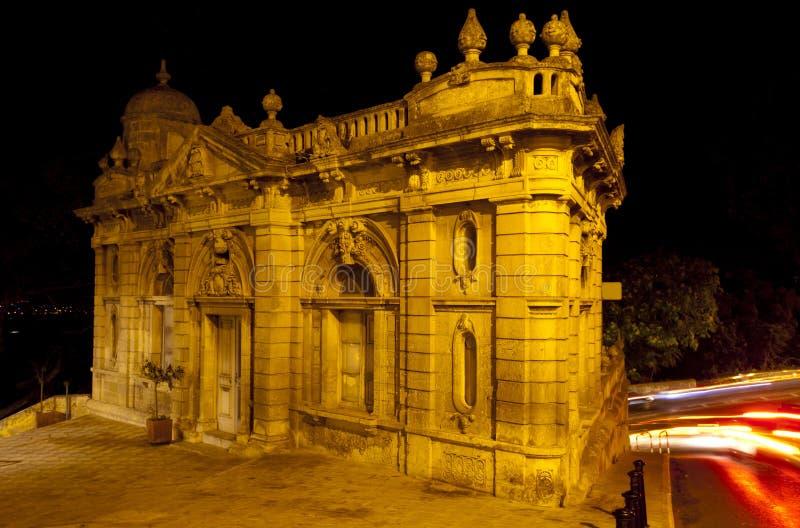 被放弃的大厦,拉巴特,马耳他 库存照片