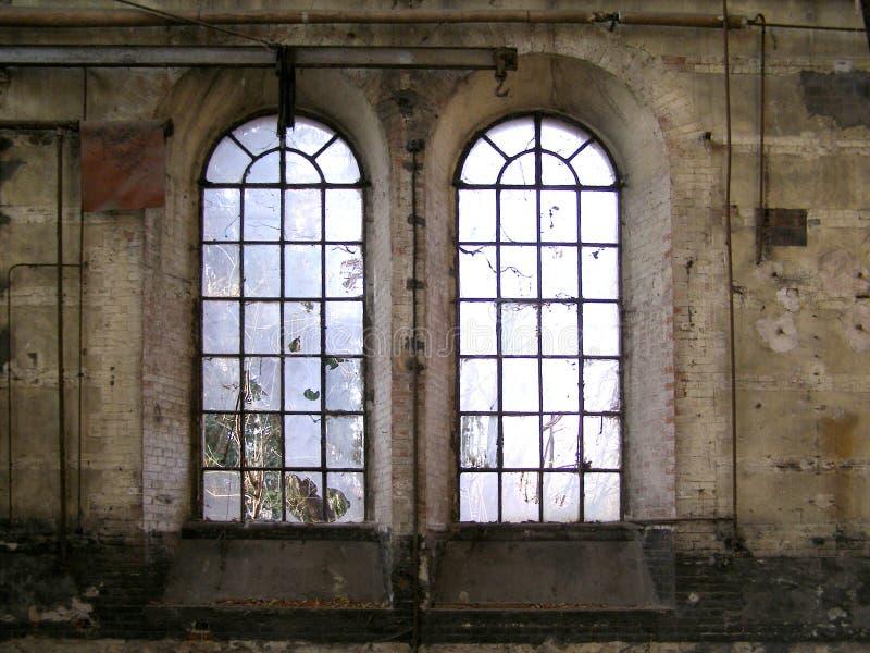 被放弃的工厂ogr托里诺都灵 库存照片
