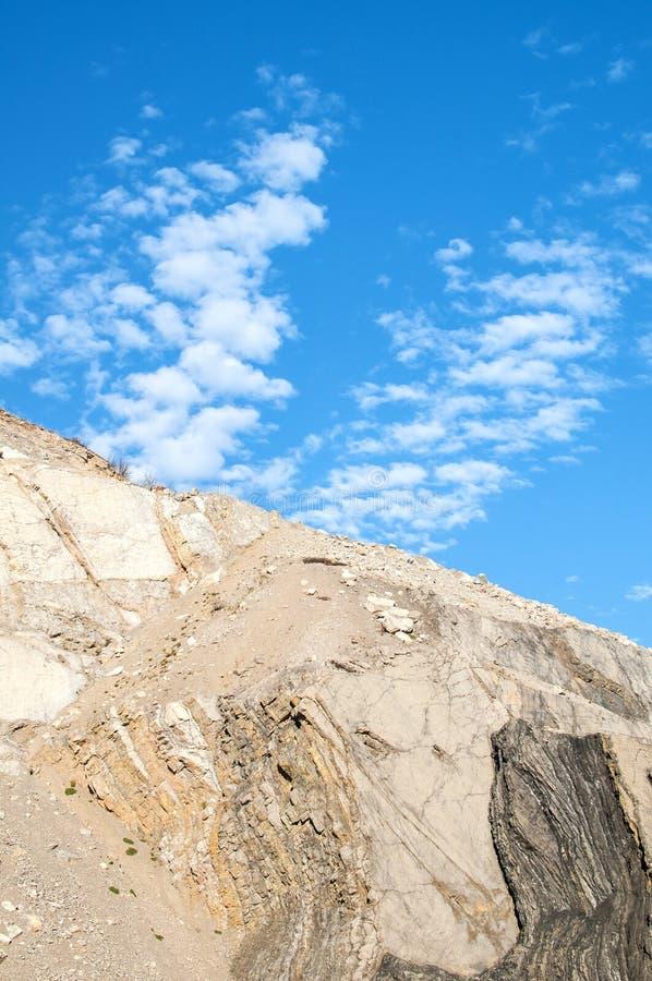 被放弃的石猎物倾斜  库存图片