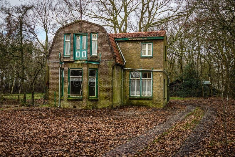 被放弃的荷兰语之家 库存照片