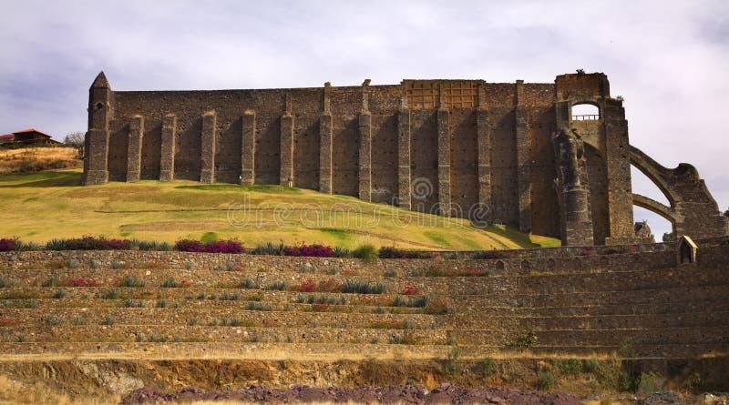 被放弃的guanajuato墨西哥最小值银巴伦西亚 图库摄影