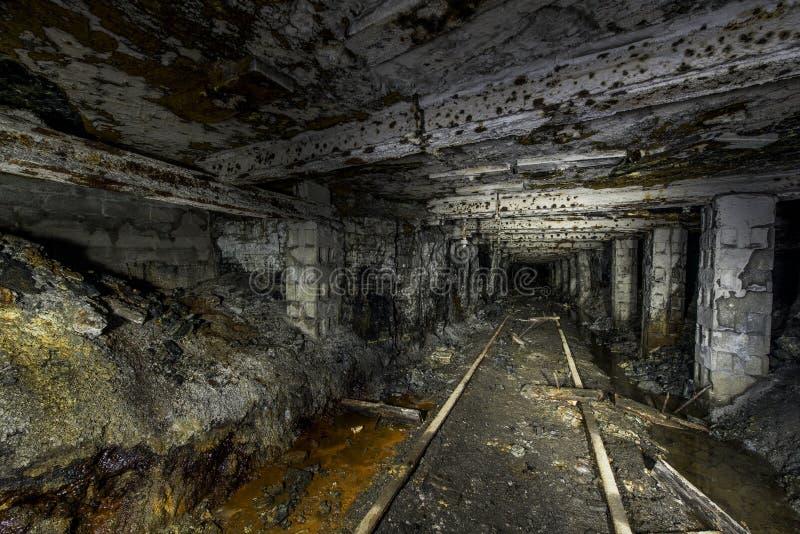 被放弃的Mathias煤矿-宾夕法尼亚 库存照片