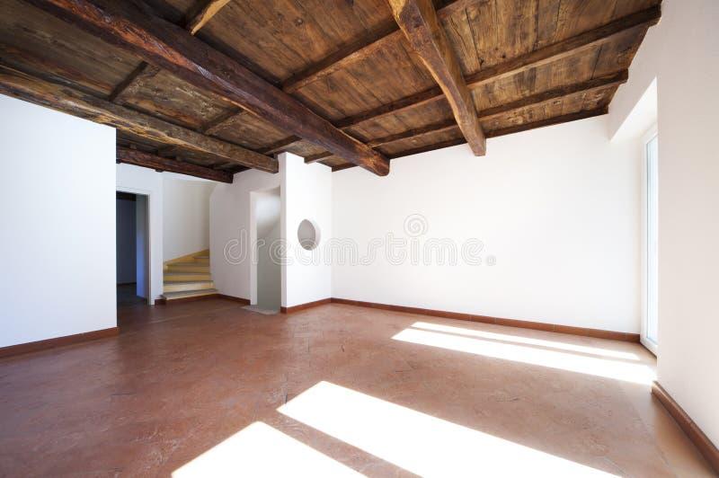 被整修的公寓美丽 免版税库存图片