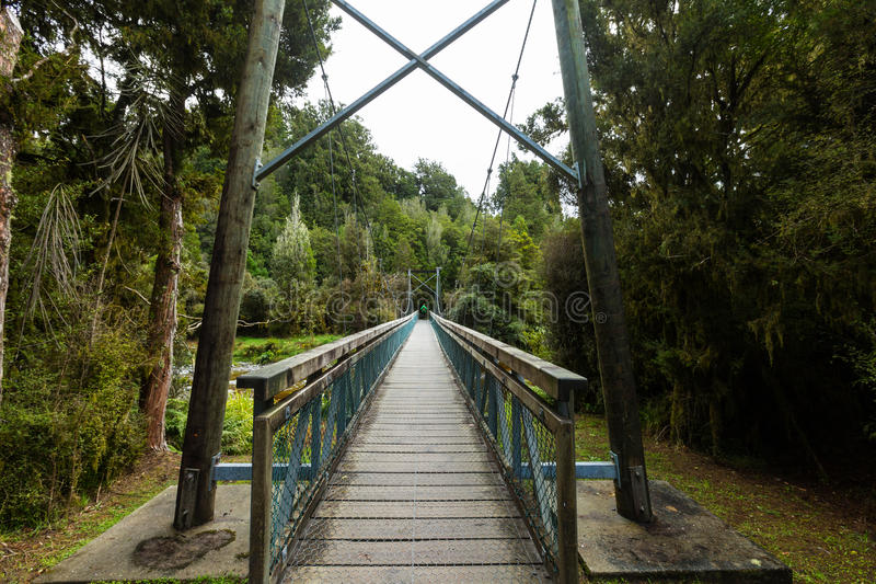 被暂停的桥梁 库存图片