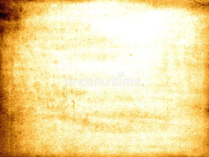 被曝光过度的老纸纹理 图库摄影