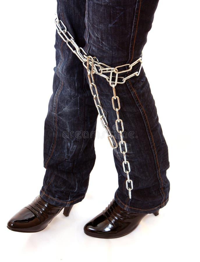 被束缚的行程 免版税图库摄影