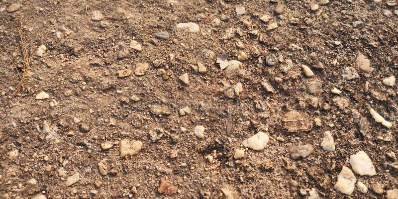 被构造的岩石地面 免版税库存图片