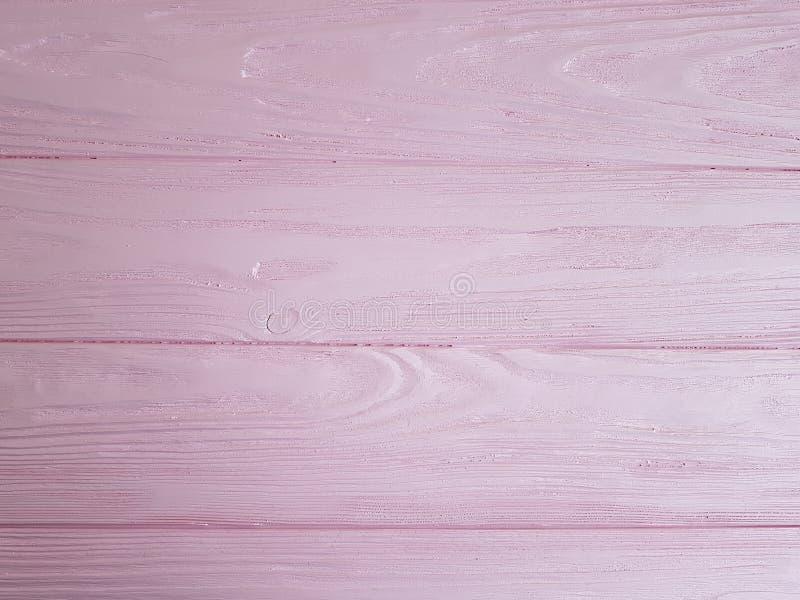 被构造的桃红色木背景,条纹 免版税库存图片